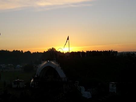Sonnenaufgang Freitagmorgen